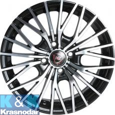 Колесный диск NZ Wheels F-3 6x15/5x105 ET39 D56.6 BKF