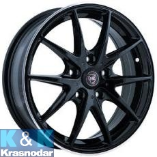 Колесный диск NZ Wheels F-34 6x15/5x105 ET39 D56.6 BKPL