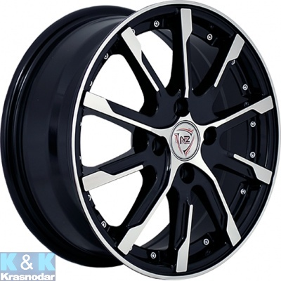 Колесный диск NZ Wheels F-37 6x15/5x105 ET39 D56.6 BKF