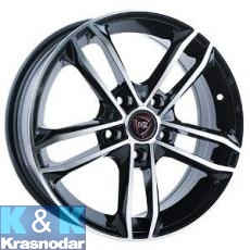 Колесный диск NZ Wheels F-44 6x15/5x112 ET47 D57.1 BKF