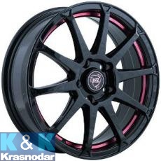 Колесный диск NZ Wheels F-22 6x15/4x100 ET50 D60 BKRSI